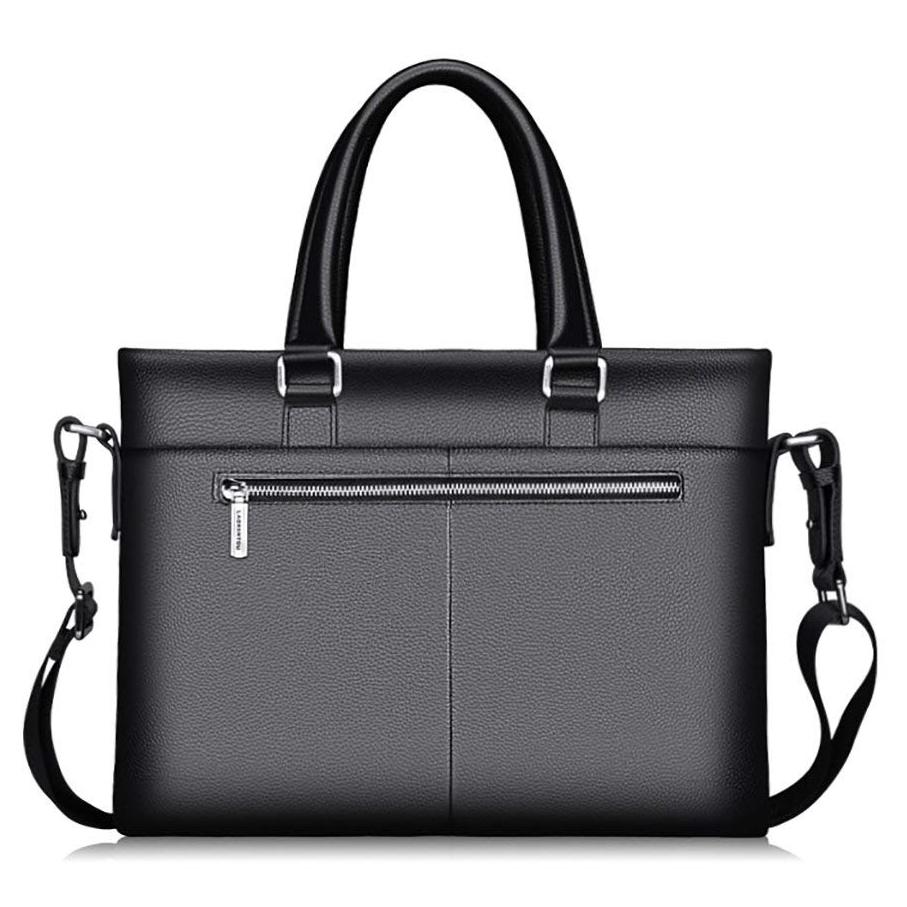 e2801c4c8b76 Комплект: Портфель мужской черный + Кошелек, натуральная кожа ...