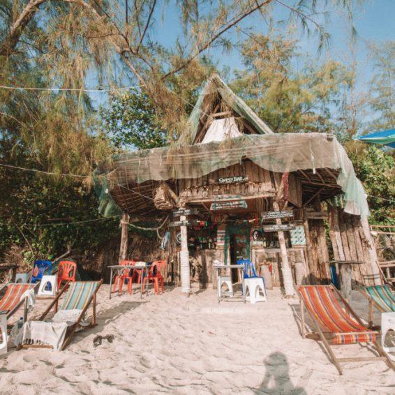 strandtent op Koh Yao Yai in thailand