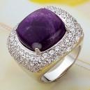 bague fantaisie violette