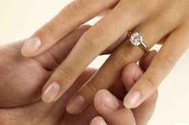 La tradition de la bague de fiançailles