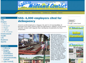 baguio midland courier website