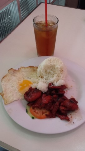 glenns 5os diner baguio tocino with egg