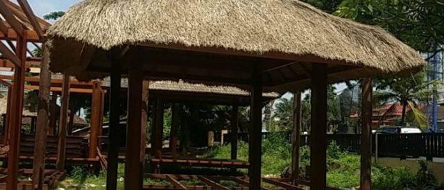 バリ島の憧れの東屋もオーダー可能です。