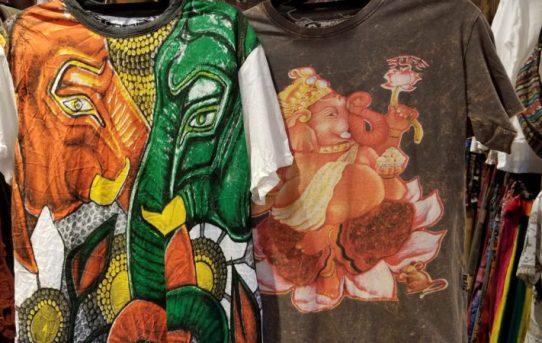 人気の神様 ガネーシャ様Tシャツ