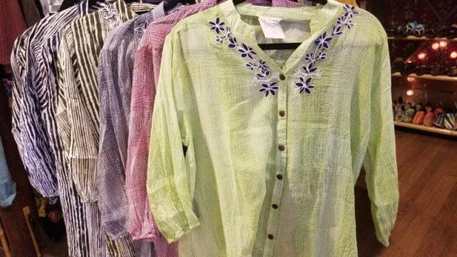 インド綿シャツ