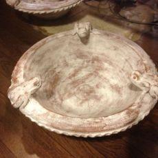 カエルさん睡蓮鉢