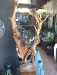 バリ島のガラス細工