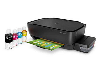 HP Ink Tank 315 ink with driver