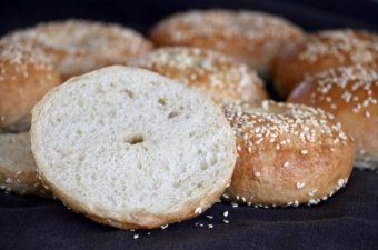 Hjemmebagte bagels udvalgt billede Bagvrk.dk