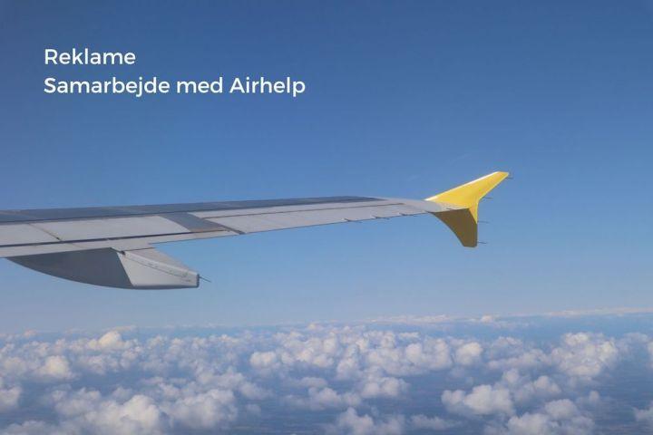 Reklame Samarbejde med Airhelp