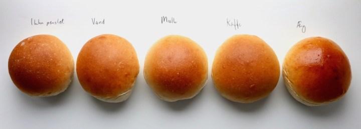 Sammenligning mellem ingenting og æg før bagning Bagvrk.dk