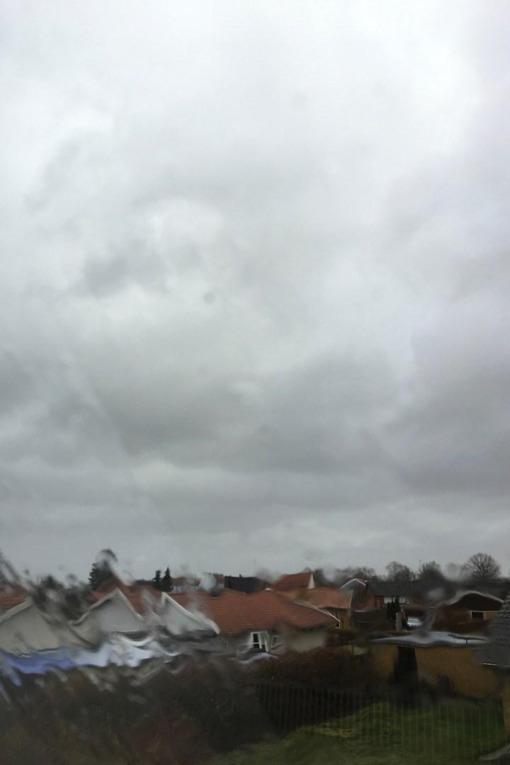 Regnvejr på tagruden Bagvrk.dk