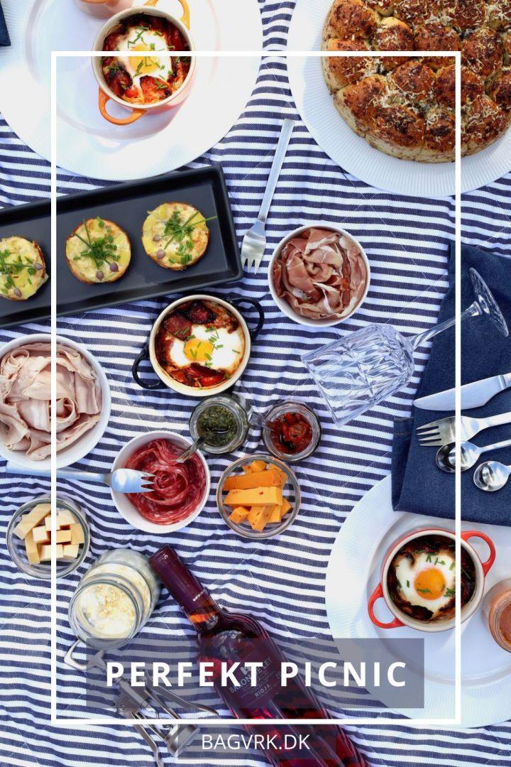 Perfekt picnic til Pinterest