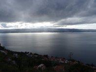 Lichtspiele der Sonne über dem Mittelmeer