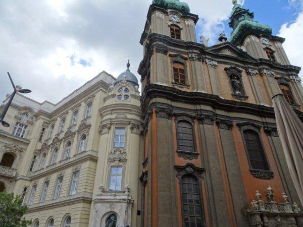 Juristische Fakultät und Universitätskirche