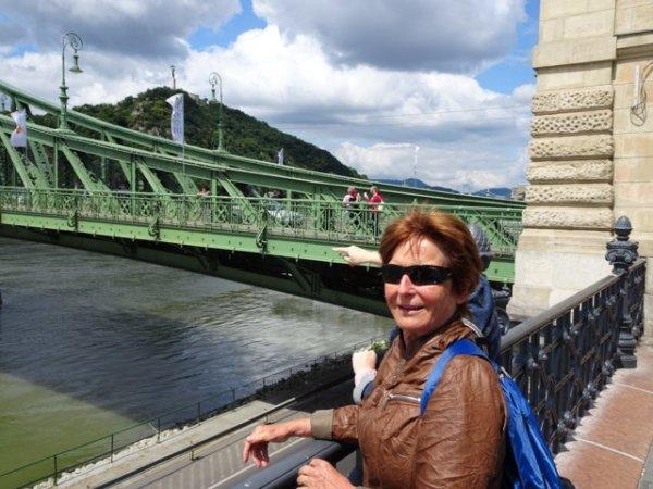 Gellertbrücke mit Gellertberg