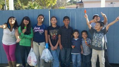 Jr Youth Neighborhood Clean Up