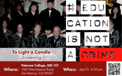 """To Light A Candle"" Screening"