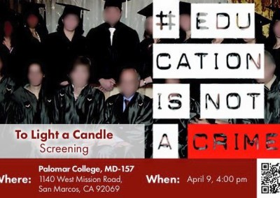 To Light a Candle Screening