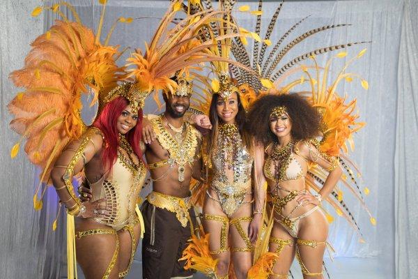 Bahamas Junkanoo carnival costumes 2018