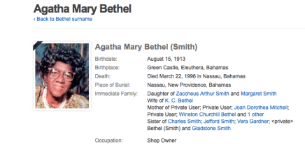 Zaccheus Smith Daughter