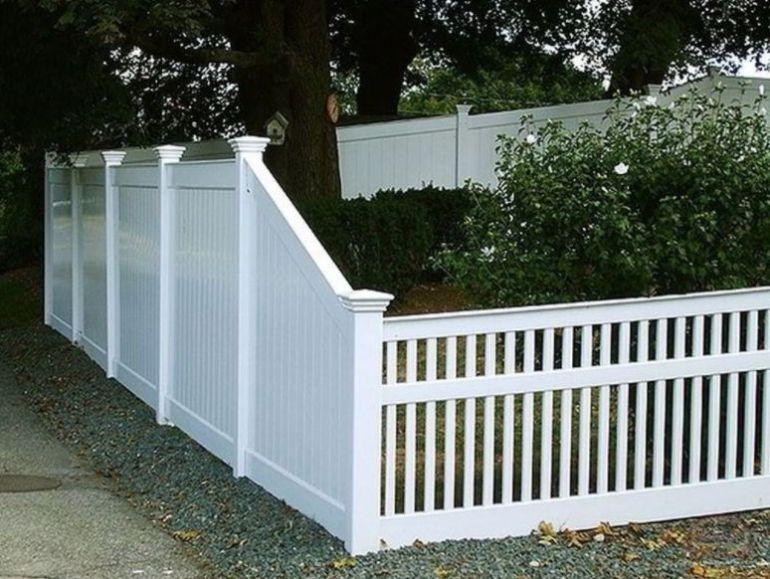 Capped Picket Fence Ideas