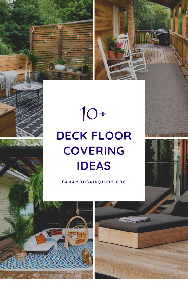 Beautiful Deck Floor Covering ideas