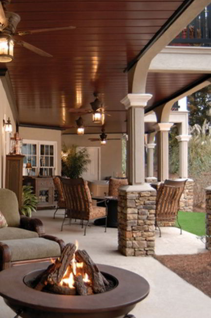 Elegant and Comfortable Patio