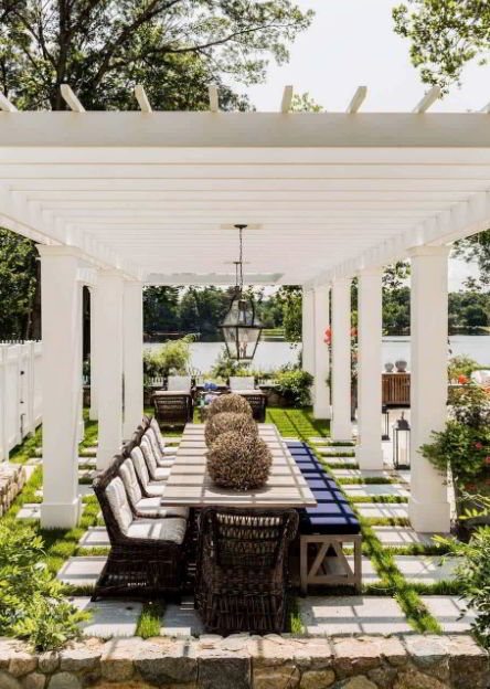 Pergola in Farmhouse Ideas