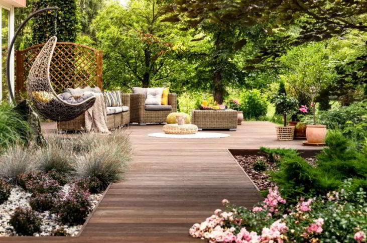 Landscape Garden Decking