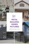 10+ Great Ideas for Metal Building Homes Pictures