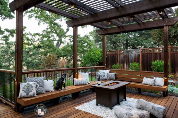 Farmhouse Pergola Ideas