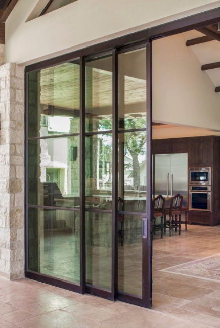 Modern Patio Door Design