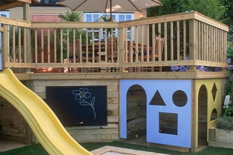Patio Playground Ideas