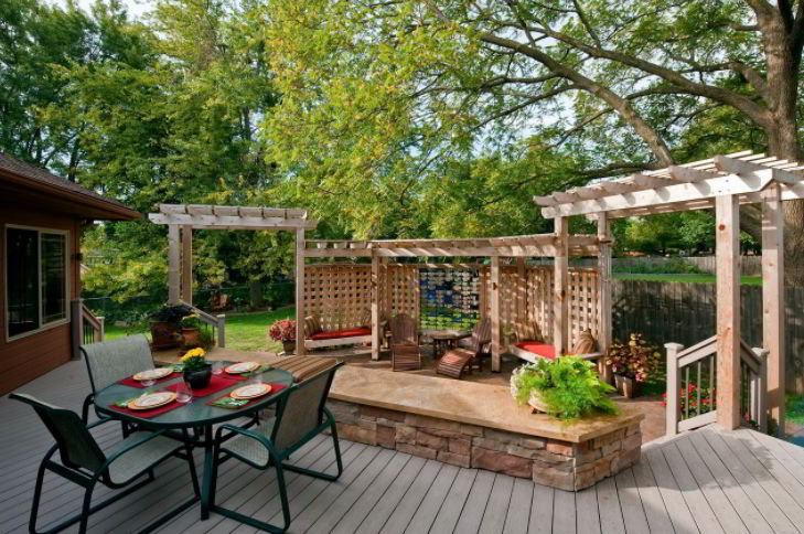 Pergola for deck ideas