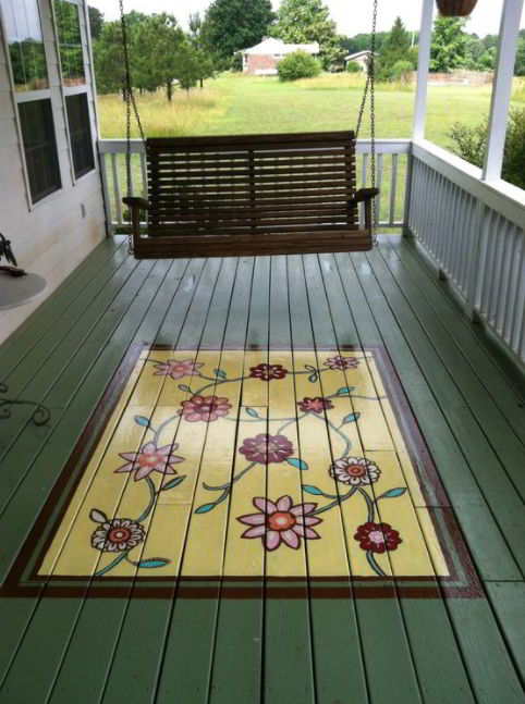 floor covering deck