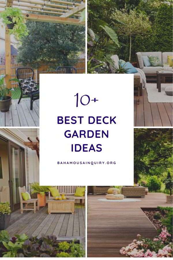 Best deck garden ideas
