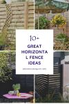10+ Great Horizontal Fence Ideas You Might Be Interested In