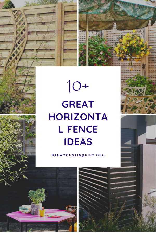 Best horizontal fence ideas
