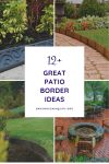 12+ Great Patio Border Ideas for Various Typed Patios