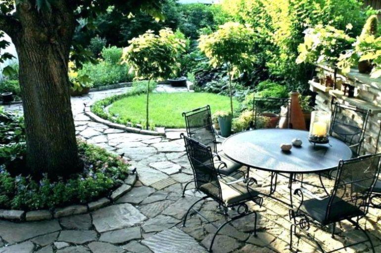 Mini rock patio ideas