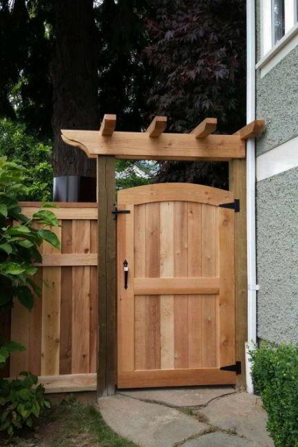 Pergola Gate Garden Ideas