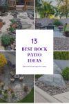 13+ Best Rock Patio Ideas for Your Backyard