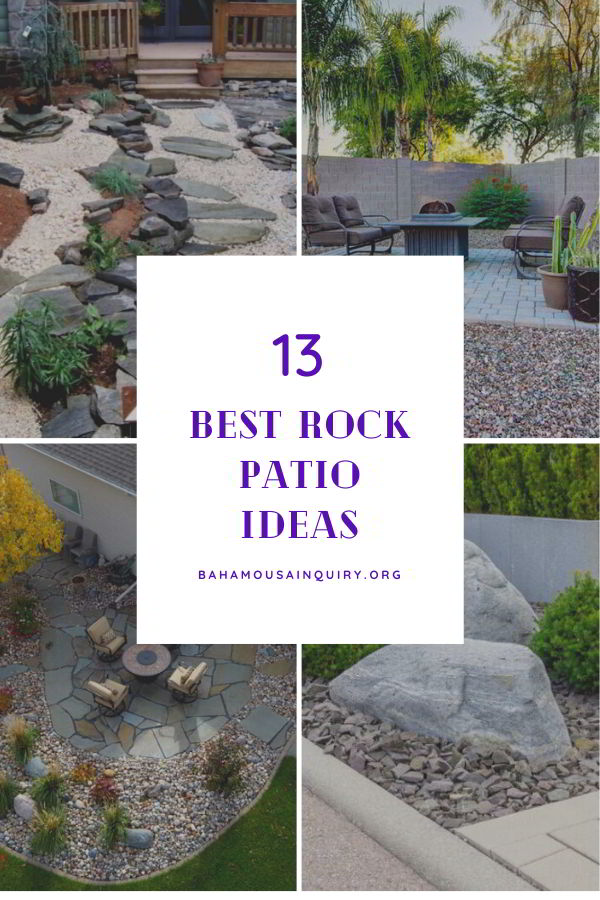 Best rock patio ideas