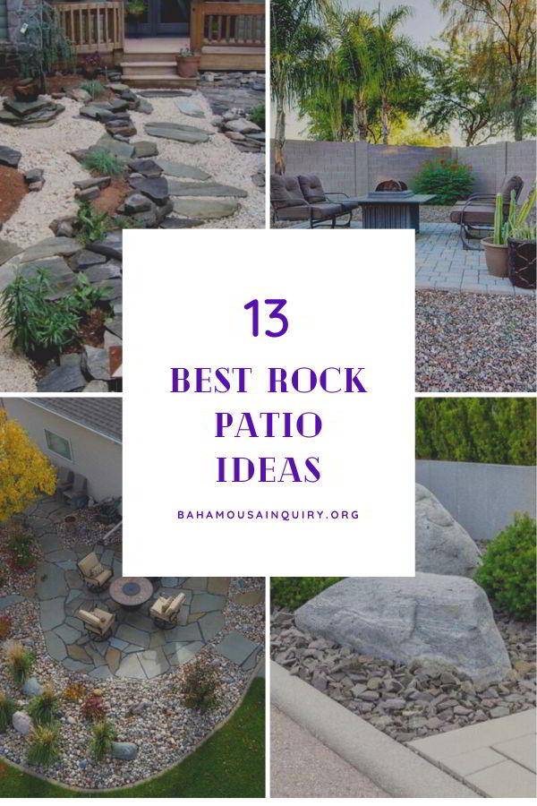 Best rock patio ideas