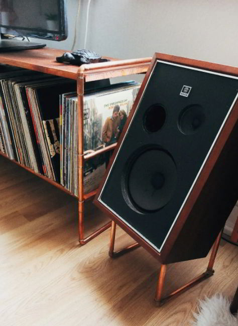 Industrial Styled Speaker Stands