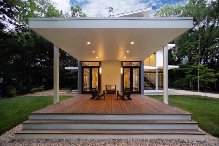 Modern Covered Deck Ideas