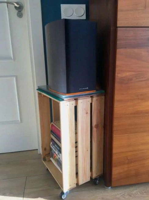 Portable Speaker to Save Space Ideas