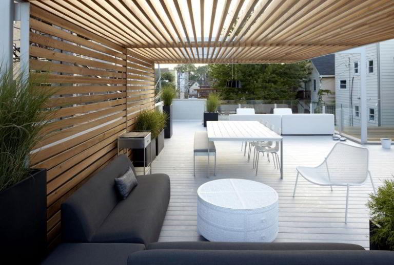 Trellis-Covered Deck Ideas