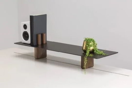Unique Bench Styled Speaker Stands